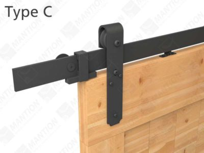 Kit de fixation en applique ROC DESIGN® Rail 2400mm RD-C-B